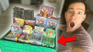 *MAN FINDS $50,000 POKEMON CARDS COLLECTION IN STORAGE UNIT!* i bought it