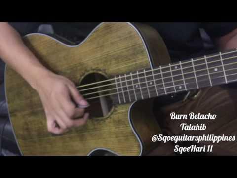 SQOE Acoustic Guitar SQ-H-FG Hari II With Fishman Pickup 101eq Tuner