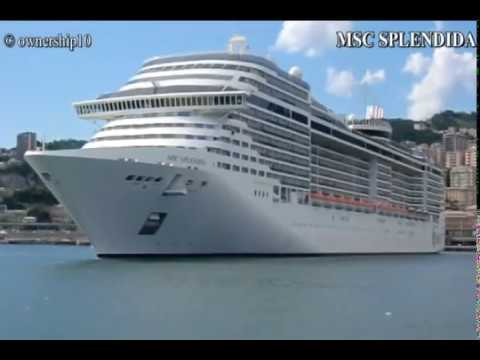 21+ Msc Splendida Genoa  PNG