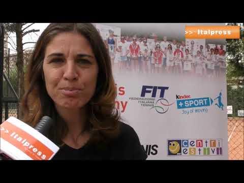 Tennis: 140 giovani al Kinder Trophy com Rita Grande