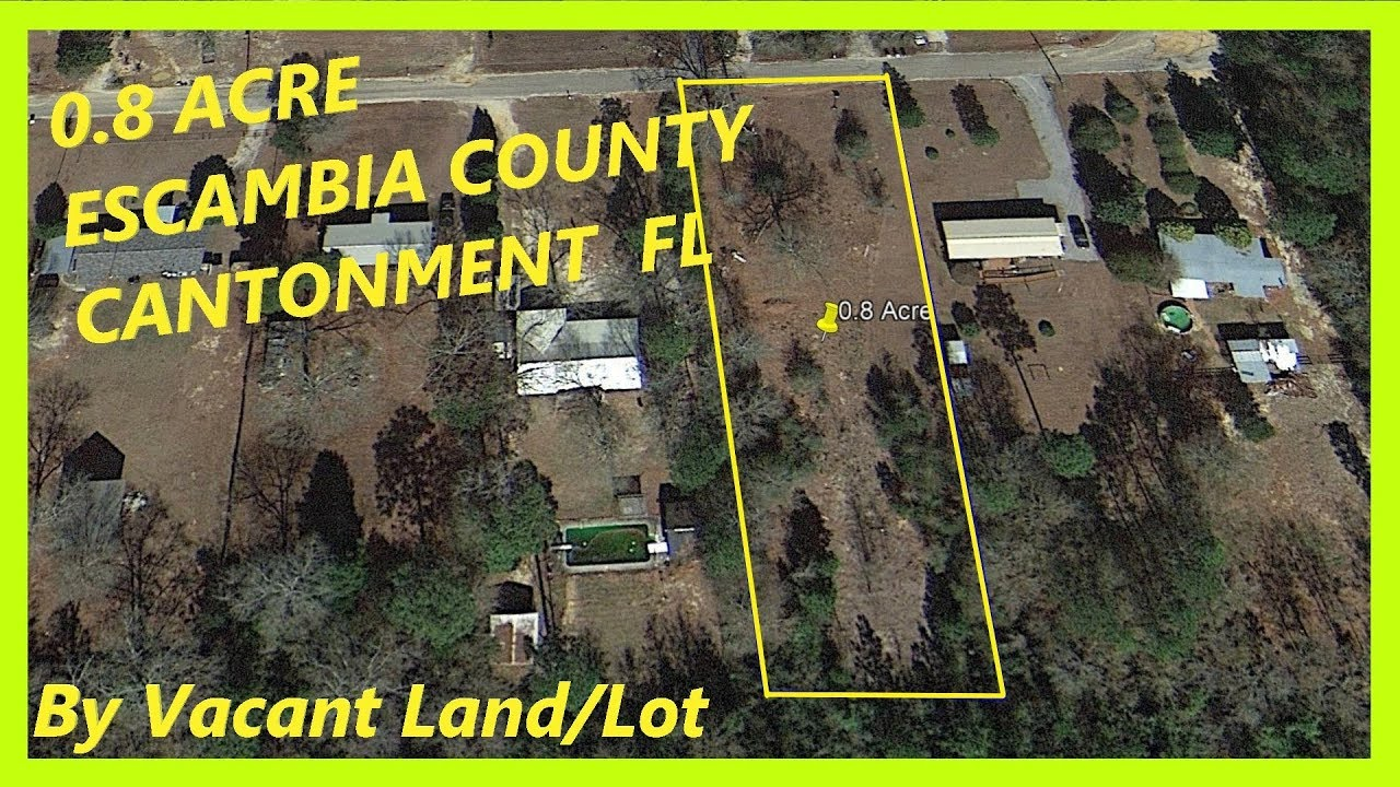 SOLD! - Land for sale in Cantonment FL - 0.8 Acre in Cantonment, Escambia county, Florida