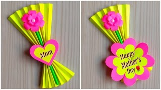 Mother's day gift ideas easy handmade / Mother's day card making very easy and beautiful