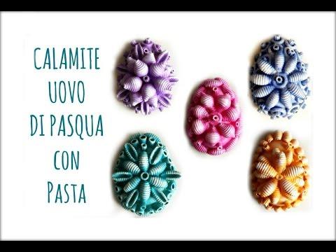 Uova Di Pasqua Calamite Con Pasta Riciclo Creativo Pasqua Arte