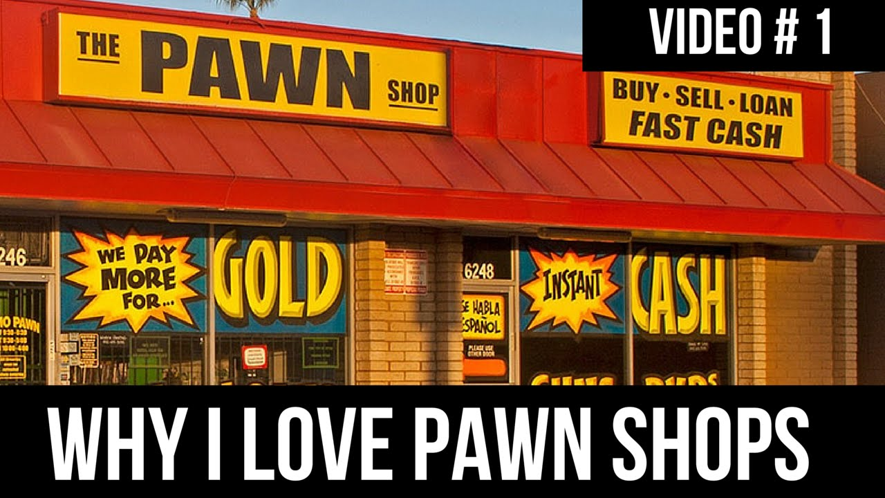 How to Make Money From Pawn Shops | Why I Love Sourcing Them? | Video # 1