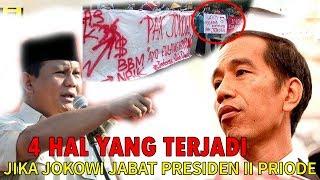 4 Hal Yang Terjadi Jika Jokowi Menjabat Presiden Hingga Dua Periode