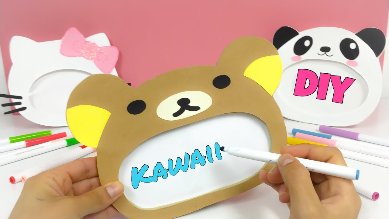 Manualidades KAWAII,Como hacer Rilakkuma,Hello Kitty,Panda KAWAII