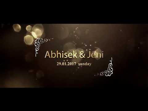 Abhishek And Jeni Wedding Film