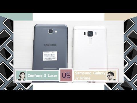 Cool Battle : Asus Zenfone3 laser VS Samsung Galaxy J7 Prime - วันที่ 15 Nov 2016