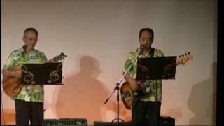 ハワイアンバンドが歌謡曲に挑戦。2017年6月4日。狭山ハワイアン...