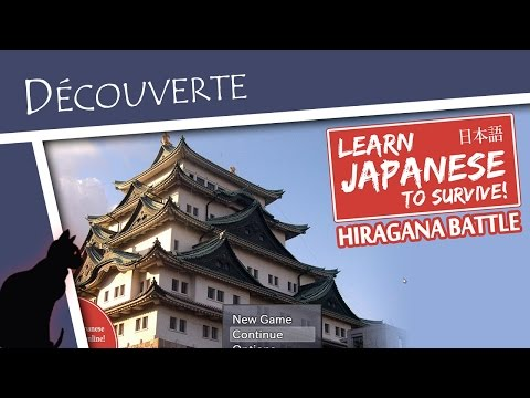 Learn Japanese to Survive || Découverte fr SoPic