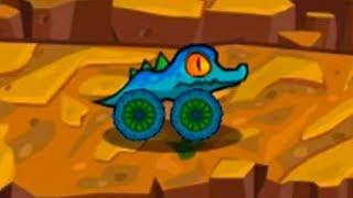 Машина ест машину Car Eats Car 3 - Хищные машины #55 Маленький Аллигатор - игра про машинки МК