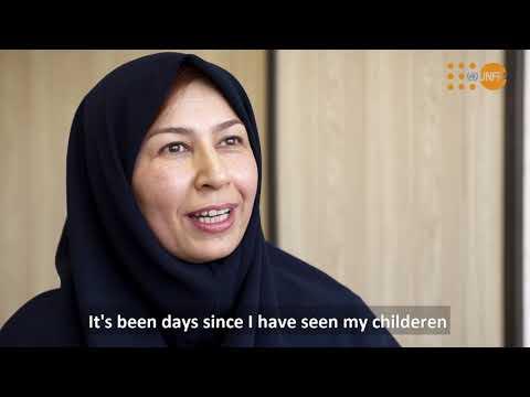 COVID-19と闘う イランの女性医療従事者