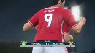 PES 2017 LigaNOS Tondela vs Benfica