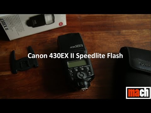 Product Review: Canon Speedlite 430EX II Flash Review