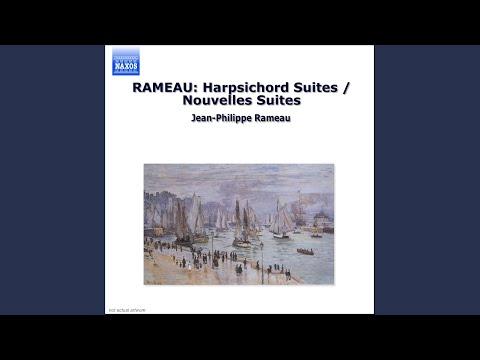jean philippe rameau nouvelles suites de pieces de clavecin suite in a minor major gavotte avec 6 doubles 3me double