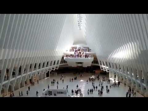 New World Trade Center Mall in NYC