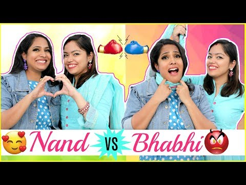 Nand (ननद) Vs Bhabhi (भाभी) - Every DESI FAMILY Ever | #Holi #Sketch #Anaysa #ShrutiArjunAnand