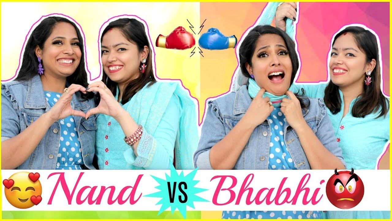 Nand (ननद) vs Bhabhi (भाभी) - Every DESI FAMILY Ever | #Holi #Sketch #Anaysa #ShrutiArjunAnand