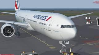 Prepar3D v4.3 - PMDG 777 - Departure from Reunion, Inbound Mauritius.