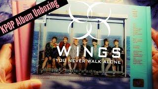 """화이팅Unboxing: BTS [방탄소년단] -  WINGS: """"You Never Walk Alone"""" Pink & Blue"""