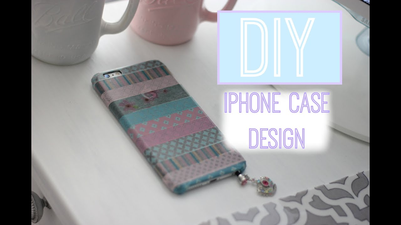 Diy custom iphone 6 plus case design youtube for Diy custom phone case