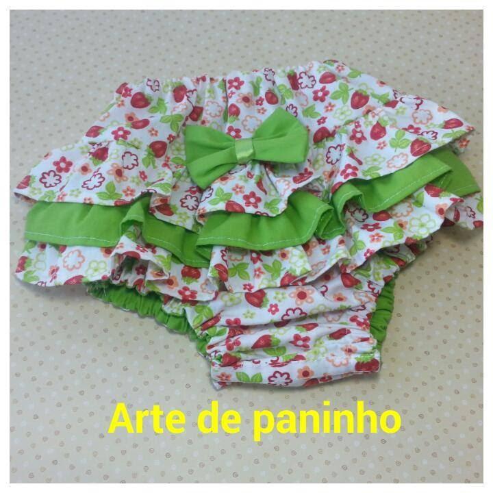 1520c88d6 Como fazer Calcinha para Criança Ou Tapa Fralda - YouTube