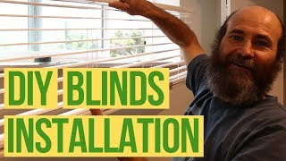 How to Install Window Blinds DIY | Full Guide