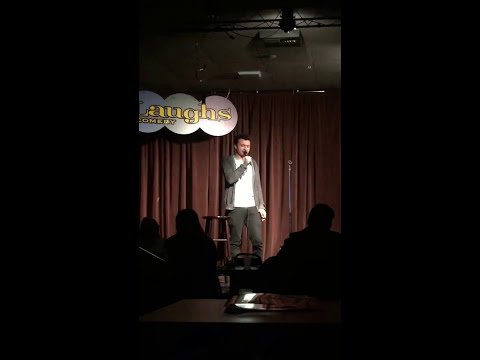 Matthew Roberson Open Mic Debut 1/11/17 - Laughs Comedy Club Seattle
