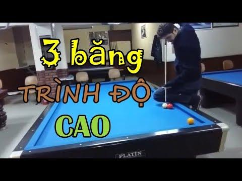 47 pha đánh bida 3 băng trình độ cao - 47 excellent shots of three-cushion billiards