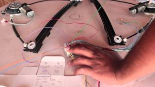 Instalando módulo de vidro elétrico Parte 1