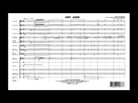 Hey Jude by John Lennon and Paul McCartney/arr. Jay Bocook