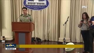 35 batang bakwit mula Marawi City, nakipagkita kay Pres. Duterte sa Malacañang