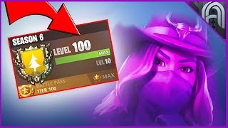 How to Get Max XP in Season 6 of Fortnite! Get to Level 100 EASY!