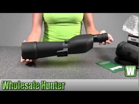 Bushnell Elite Spotting Scope 20-60X80mm PorPri ED Gls Ranged Wp FPBx6L 780008 Shooting Unboxing
