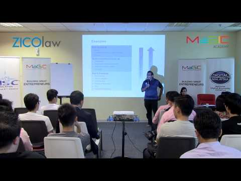 MaGIC Academy - ZICOlaw - What Startups Should Know About Legalities ?