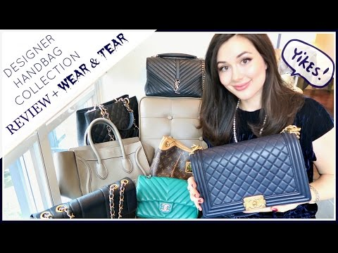DESIGNER HANDBAG COLLECTION | REVIEW + WEAR & TEAR UPDATE