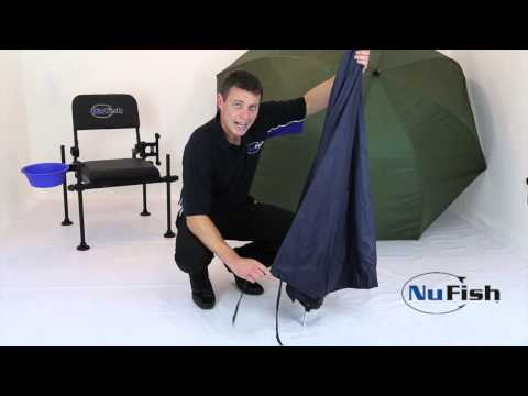 How to fold away a FISHING UMBRELLA