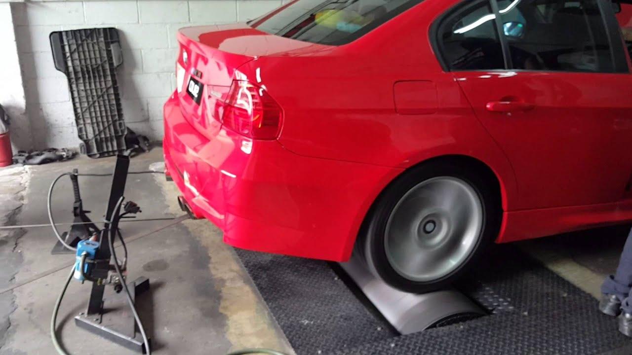 BMW convert club-BMW e90 2jz 1st dyno test