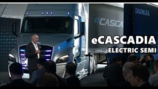 Daimler e-Cascadia Electric Truck - Tesla Semi Killer