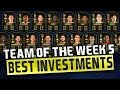 FIFA 19 BUY THESE TOTW CARDS! (INVESTING GUIDE) | TRADING TO GLORY #22 | FIFA 19 ULTIMATE TEAM