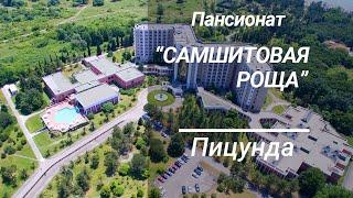 Пансионат «Самшитовая роща», Пицунда, Абхазия 2020. Отдых в Абхазии.