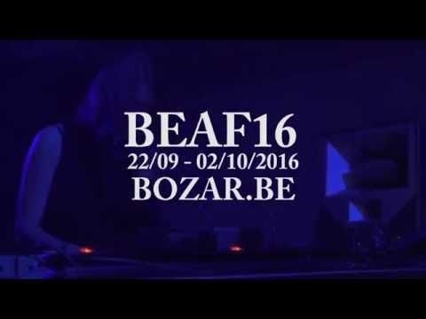 BOZAR ELECTRONIC ARTS FESTIVAL 2016