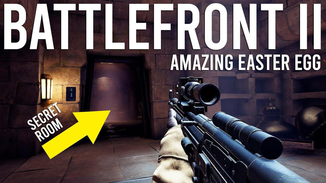 Star Wars Battlefront 2 tiene un increíble huevo de Pascua + vídeo