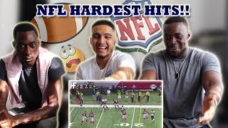 THIS IS PEAK!! | BRITISH BOYS REACT TO NFL HARDEST HITS