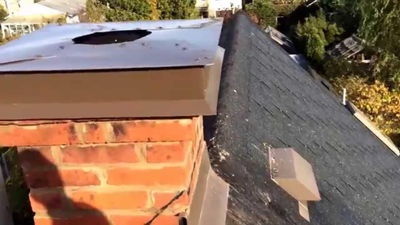 Chimney Crown Repair Sheet Metal Chimney Caps On Steep