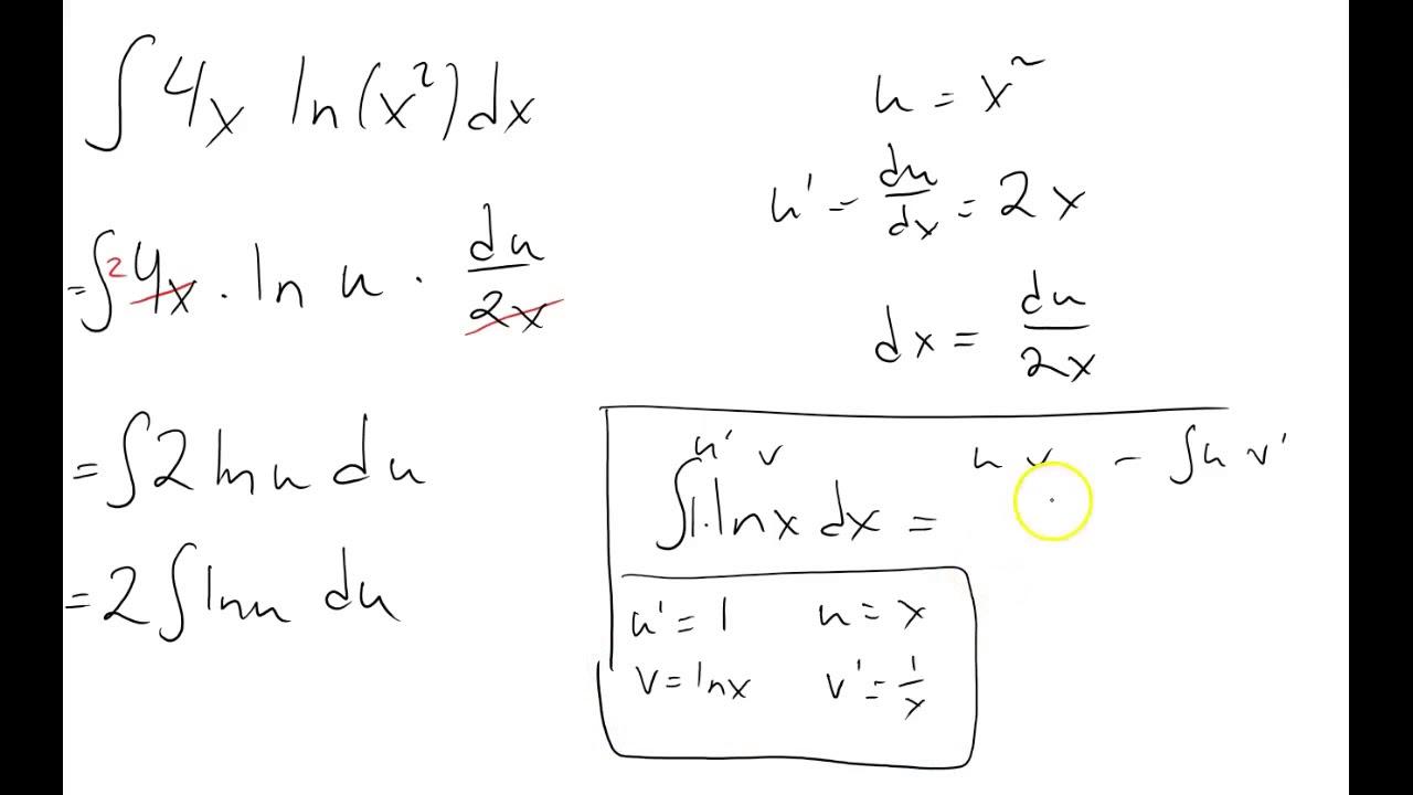 Integrasjon ved variabelskifte dobbel hastighet