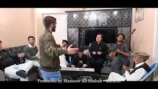Metar reran ki tu kuja e raft   Mansoor Ali Shabab   Basharat Basha   Karachi Program   Jan 8, 2021