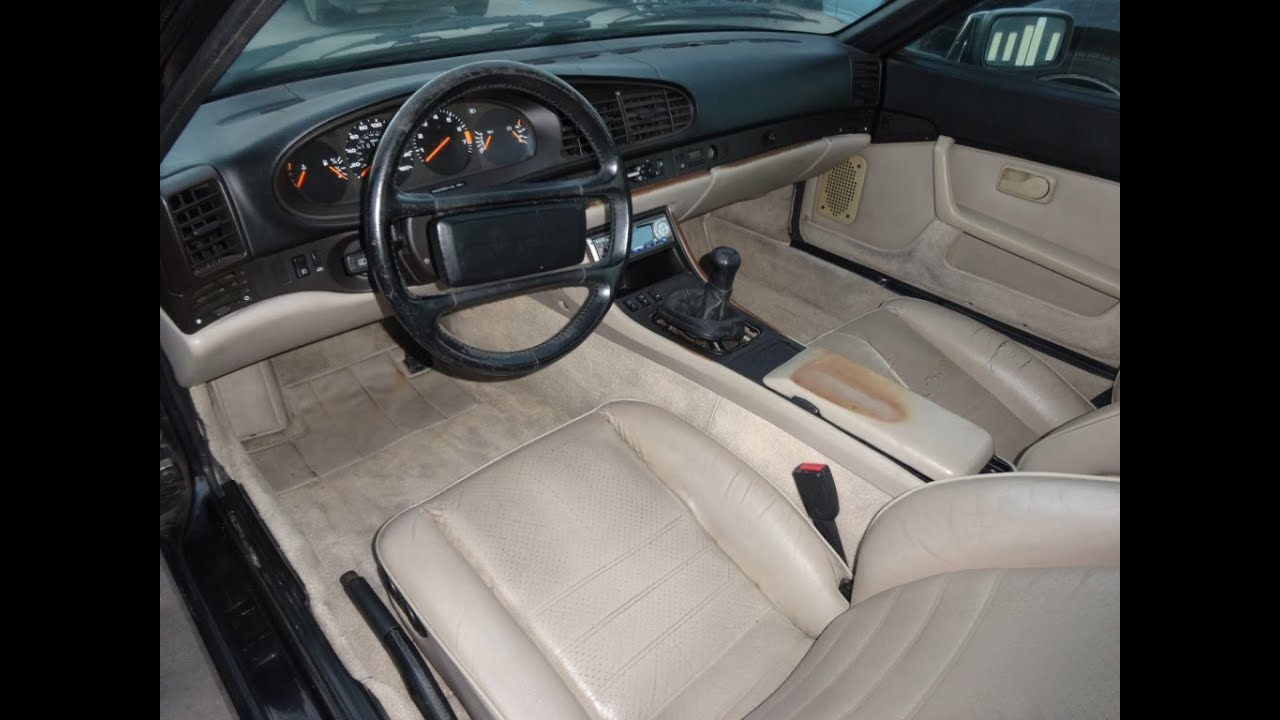Porsche 944 for sale coupe 5 spd manual interior review 1 for Porsche 944 interieur