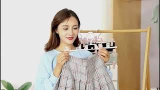 가정용 신박한정리 바지걸이 틈새활용 클립 스커트 보관 …