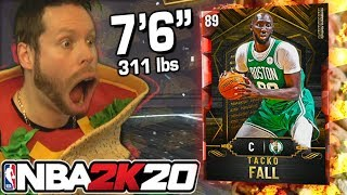 "7'6"" Tacko Fall is finally here! NBA 2K20"